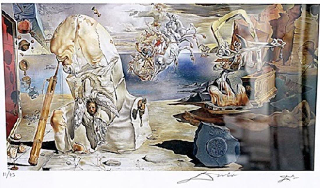 The Apotheosis of Homer - Salvador Dali - Lithograph