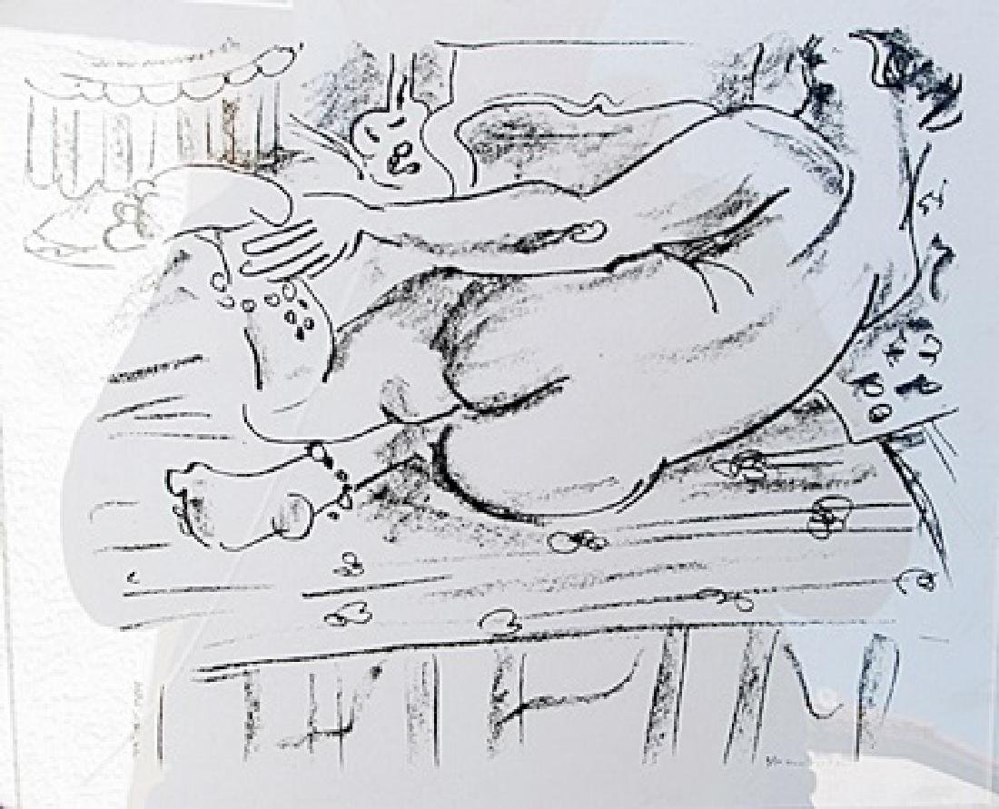 Henri Matisse - Lithograph 204U