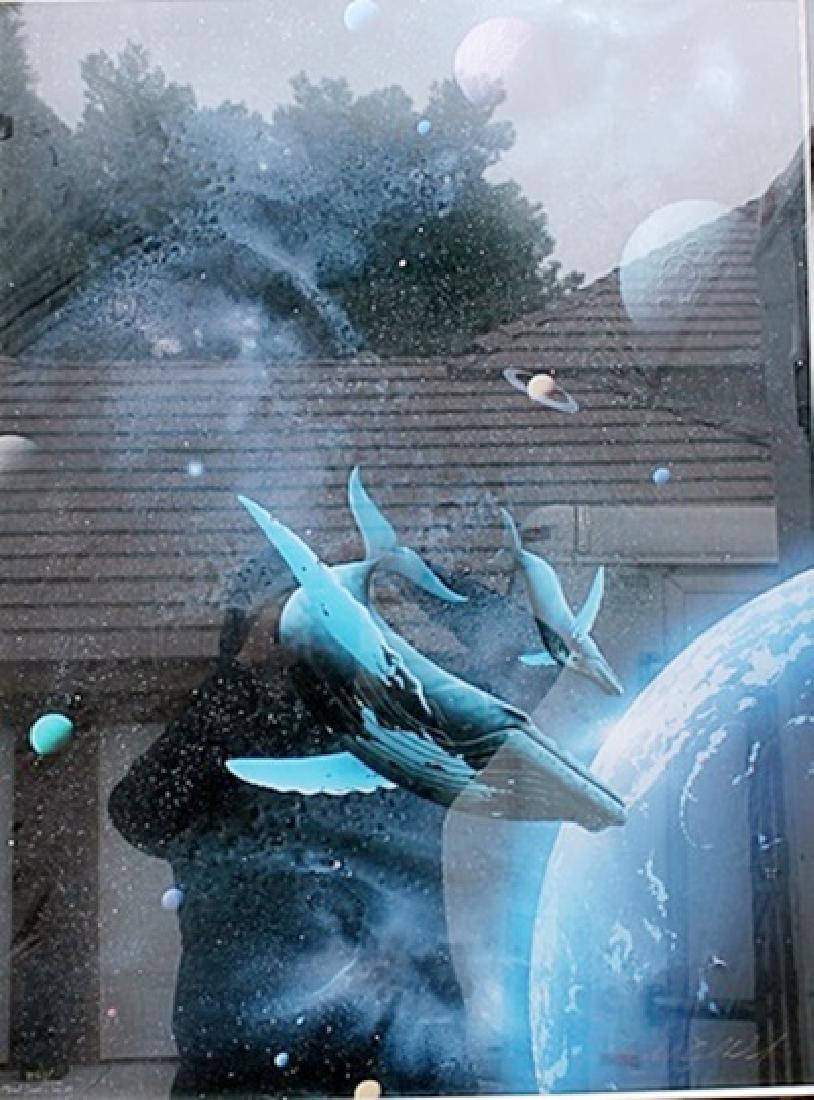 Space Slab - Michael David Ward - Lithograph