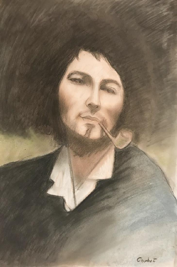 Gustave Courbet - Pastel On Paper