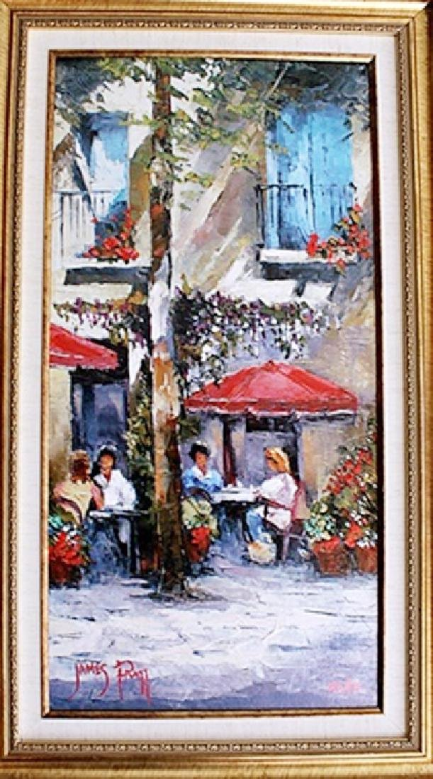 Lunch in the Shade - James Pratt - Giclee on Canvas