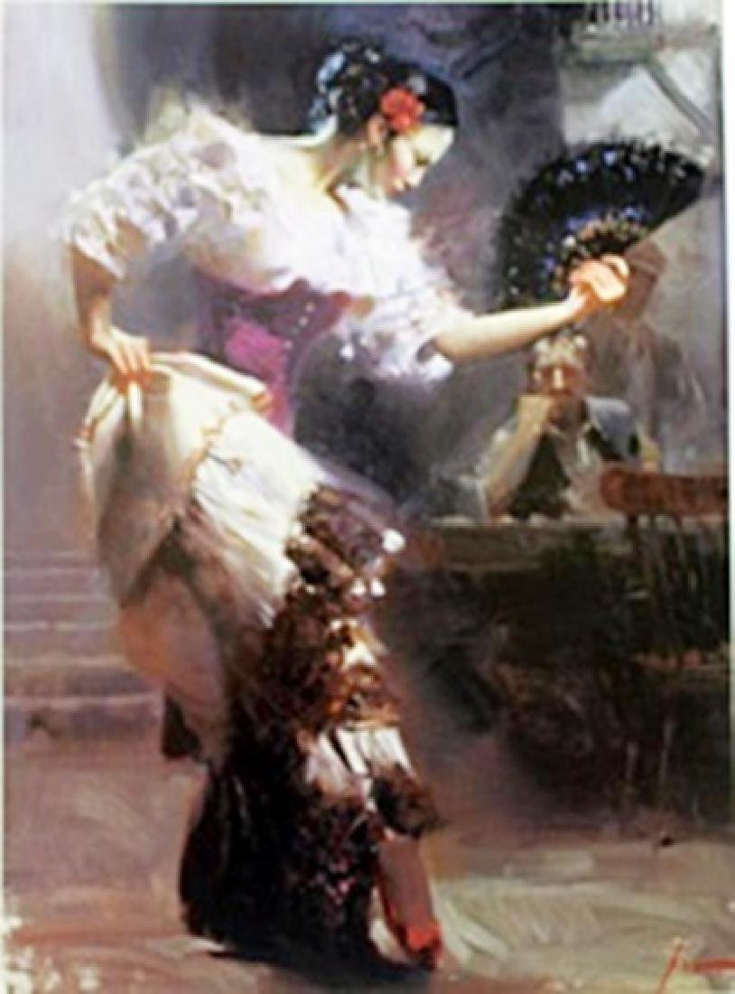 "Authentic Giclee on Paper ""The Dancer""  Pino"