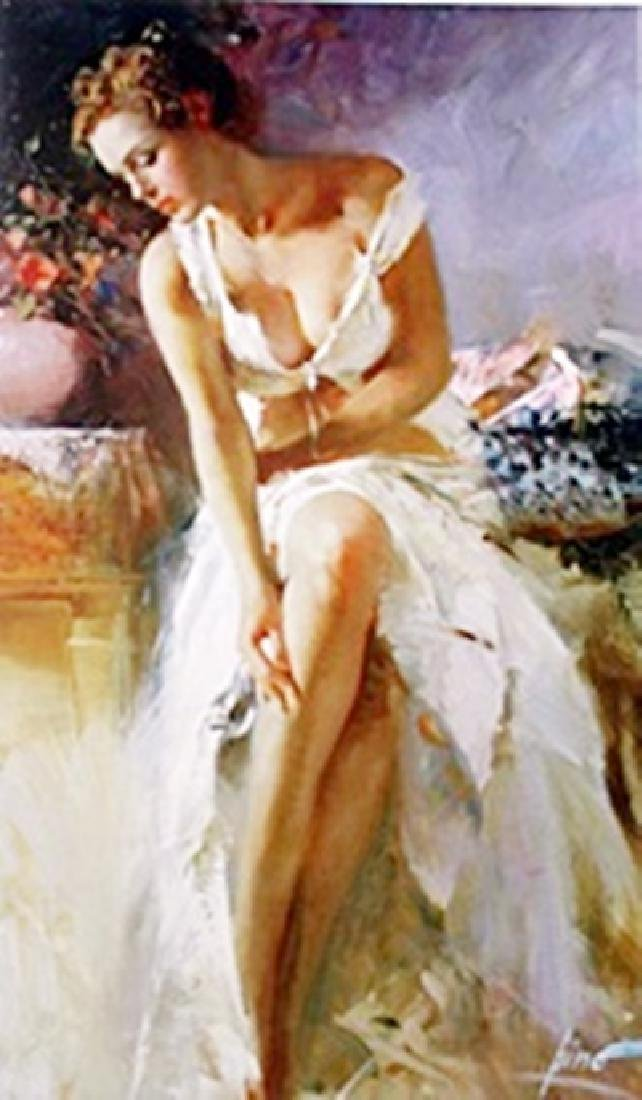 "Authentic Giclee on Paper ""Angelica""  Pino"