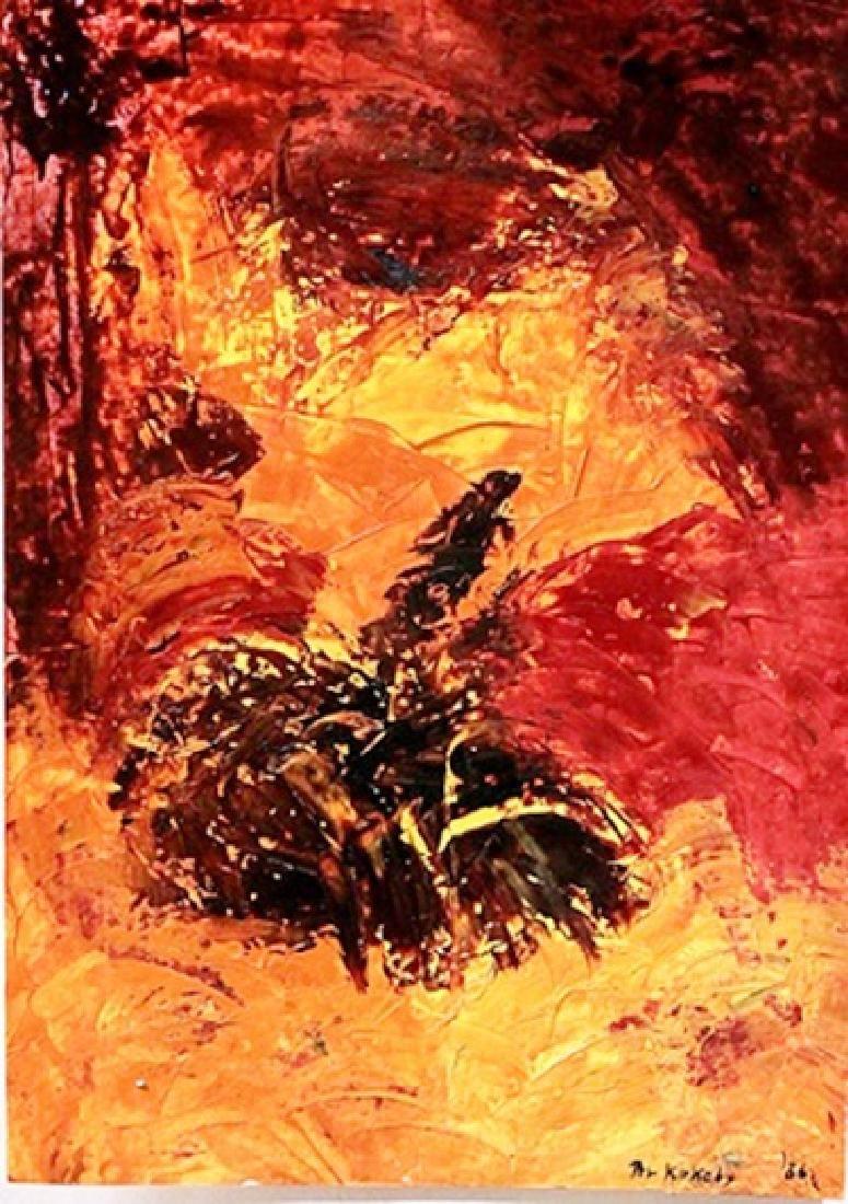 Jungle - Per Kirkeby - Oil On Paper