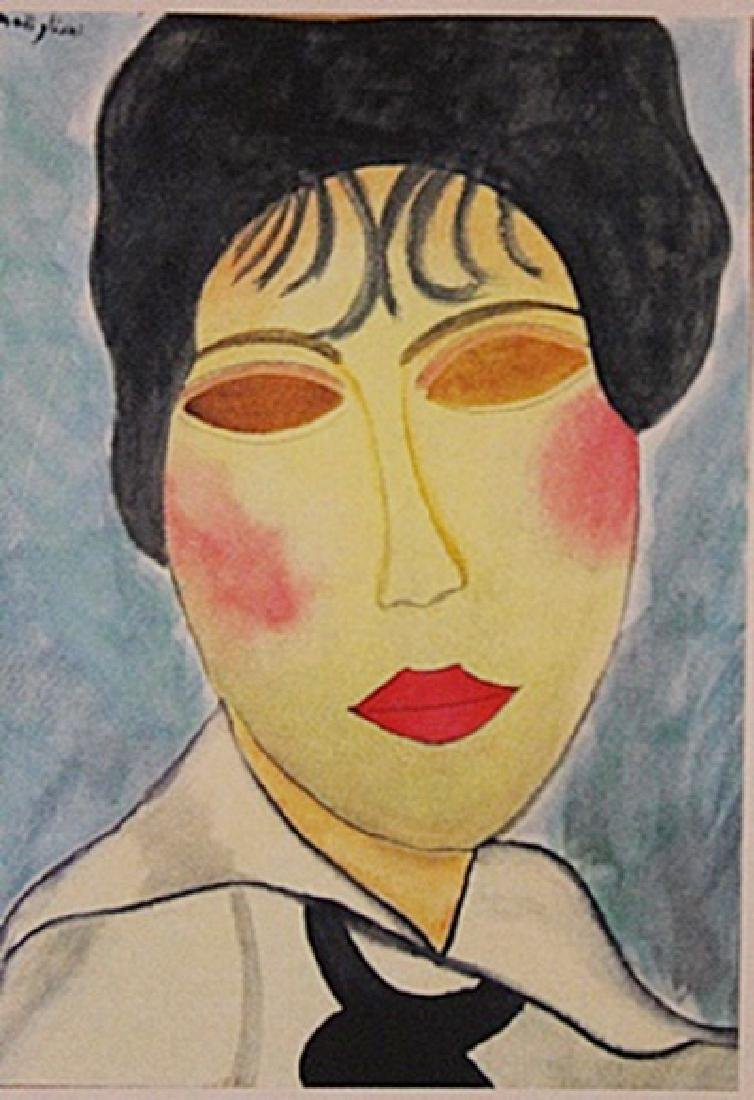 Amedeo Modigliani - Ms. Clauded