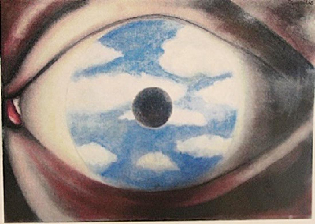 Rene Magritte - The Eyes Of The Soul