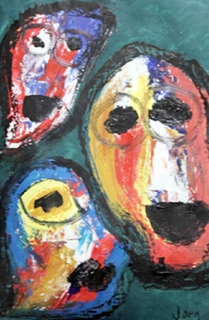 The Circus - Asger Jorn - Oil On Paper