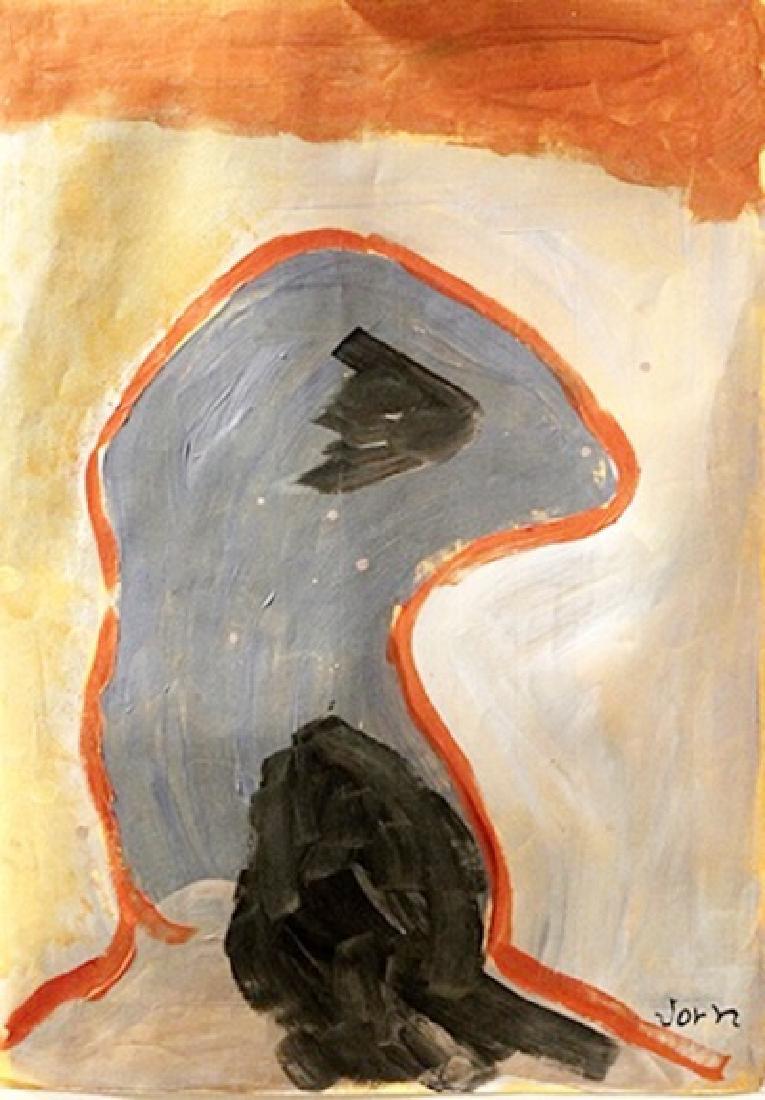 The Bird - Asger Jorn - Oil On Paper