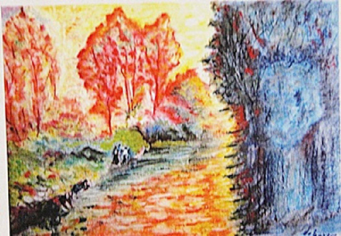 Henri Lebasque - Womans at the River