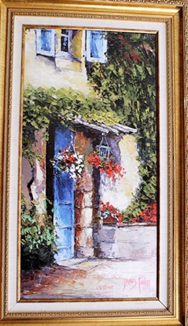 La Residence - James Pratt - Giclee on Canvas