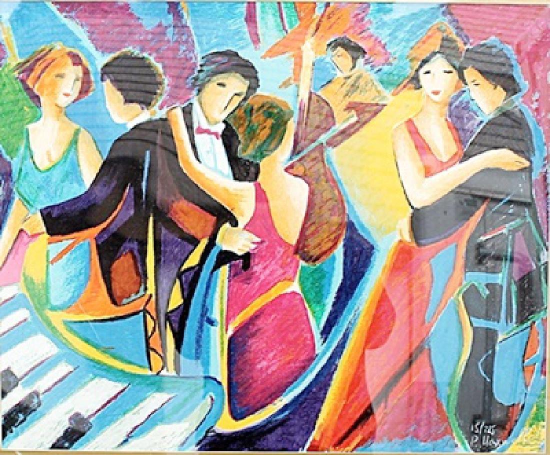 Tango Club - Philip Maxwell - Lithograph