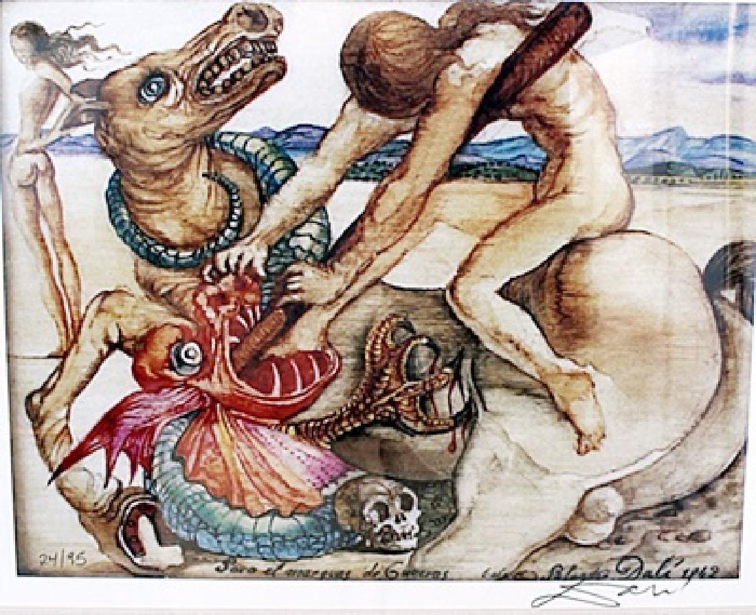 Saint George and the Dragon - Salvador Dali -