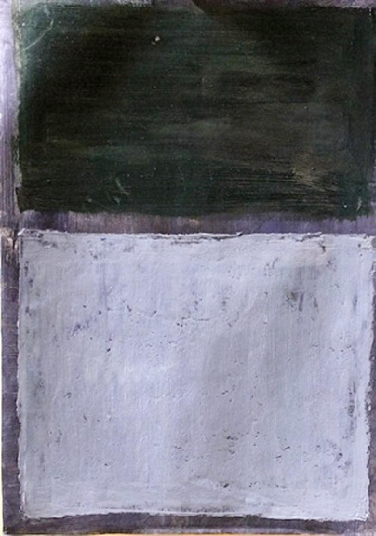Blue and Green - Mark Rothko - Oil On Paper