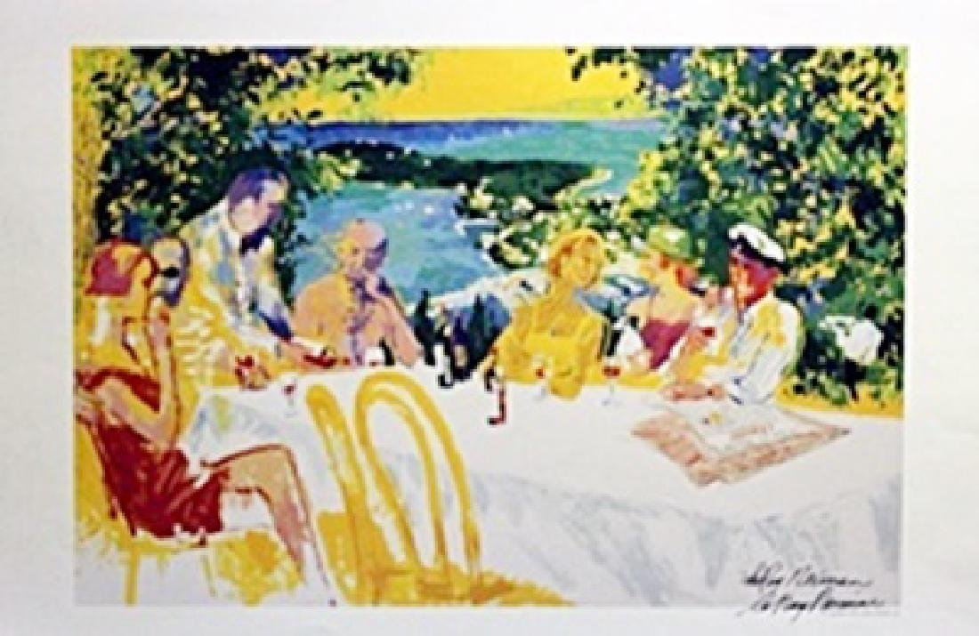 Table Conference  - LeRoy Neiman