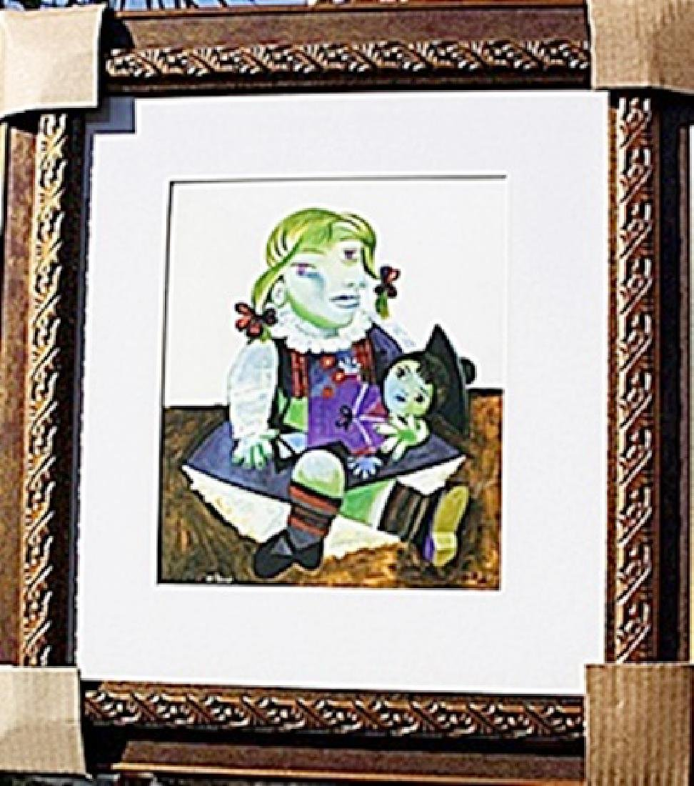 """Authentic """"Maya and Doll"""" - Picasso - Limited Edition"""