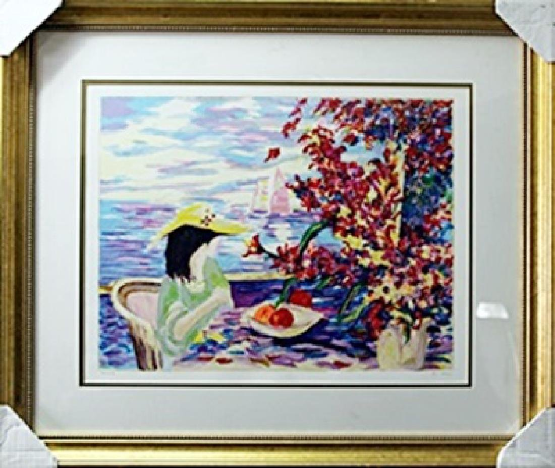 """authentic serigraph """"Oceanside Fantasy"""" after Kim"""