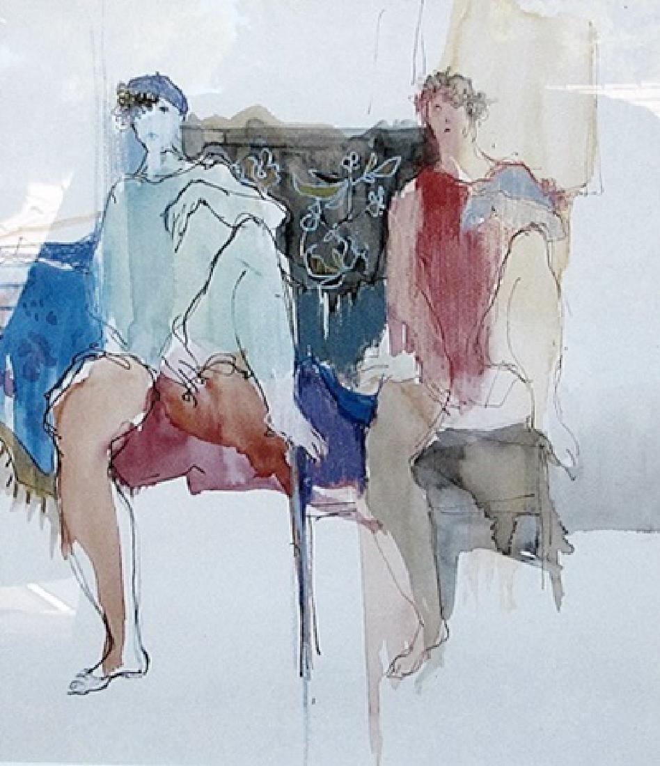Male Models - Itzchak Tarkay - Lithograph