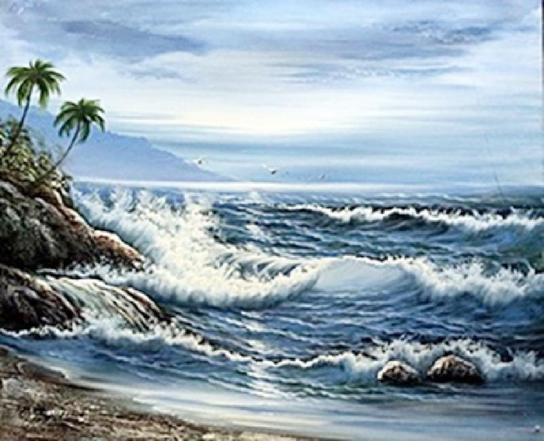 Oil on Canvas   K. Hillman