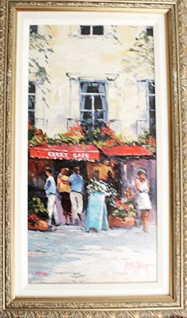 Ceret Café - James Pratt - Giclee on Canvas