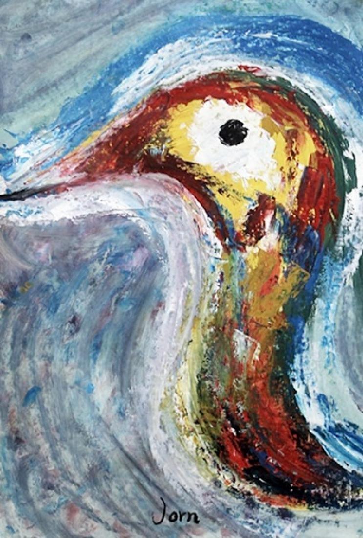 Bird - Asger Jorn - Oil On Paper