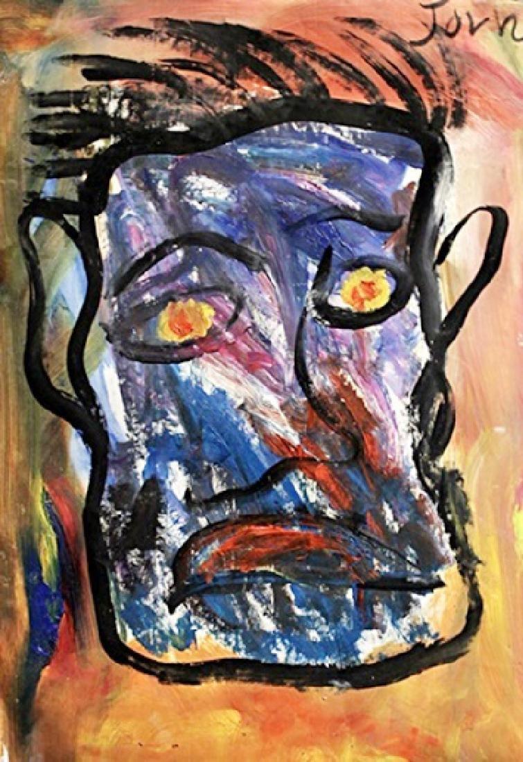 Hippoforme - Asger Jorn - Oil On Paper