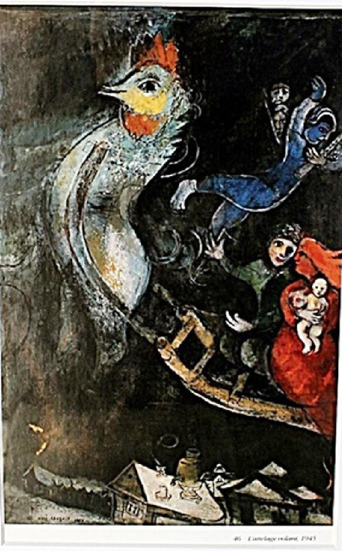 L' attelage Volant, 1945 - Marc Chagall - Lithograph