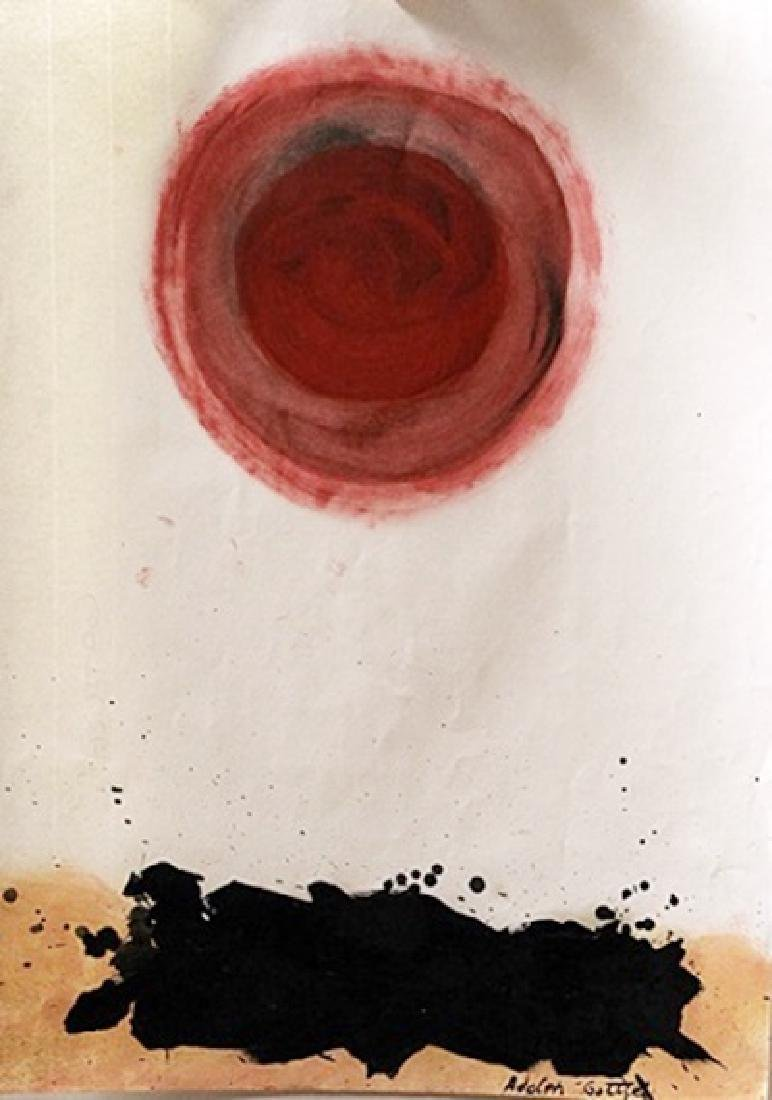 Balance 1 - Adolph Gottlieb - Oil On Paper