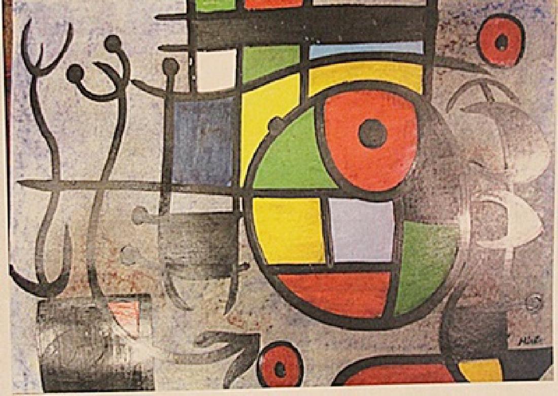 Joan Miro - Saliendo Al Mar