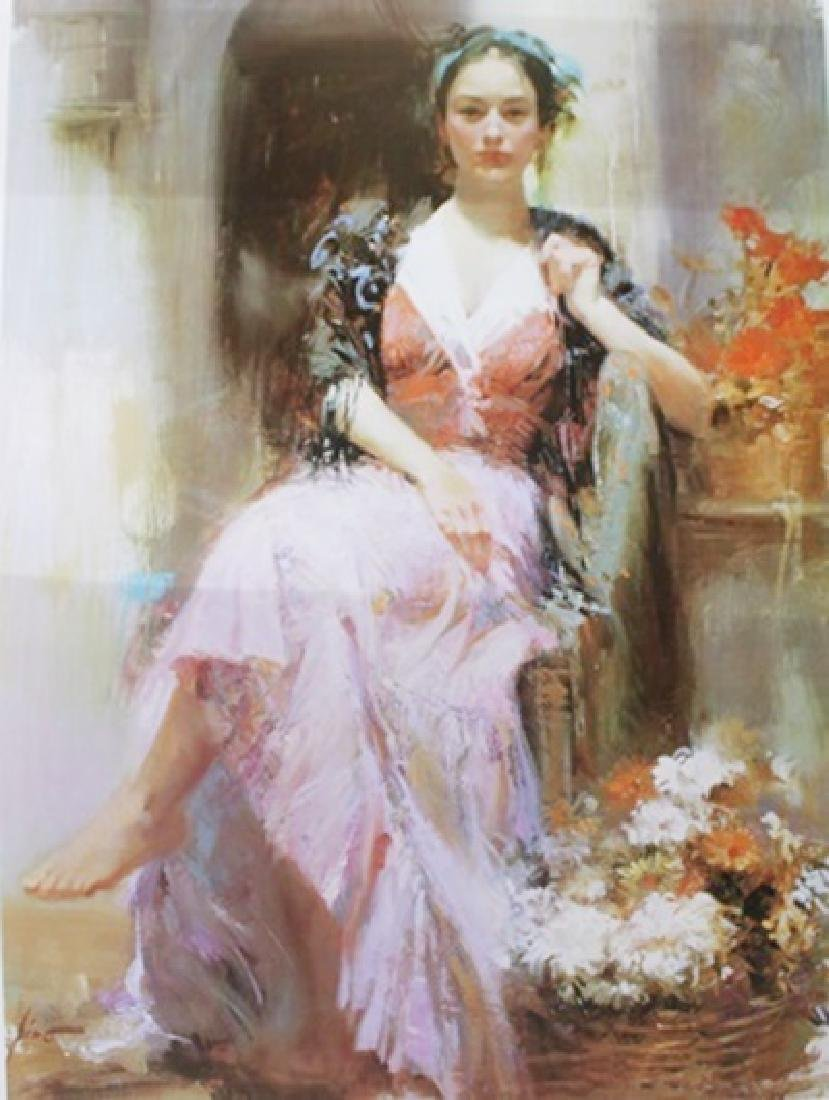 """Giclee on Paper """"Country Girl""""  Pino (16ZI)"""
