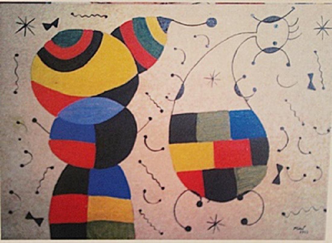 Joan Miro - Dos Niños Jugando