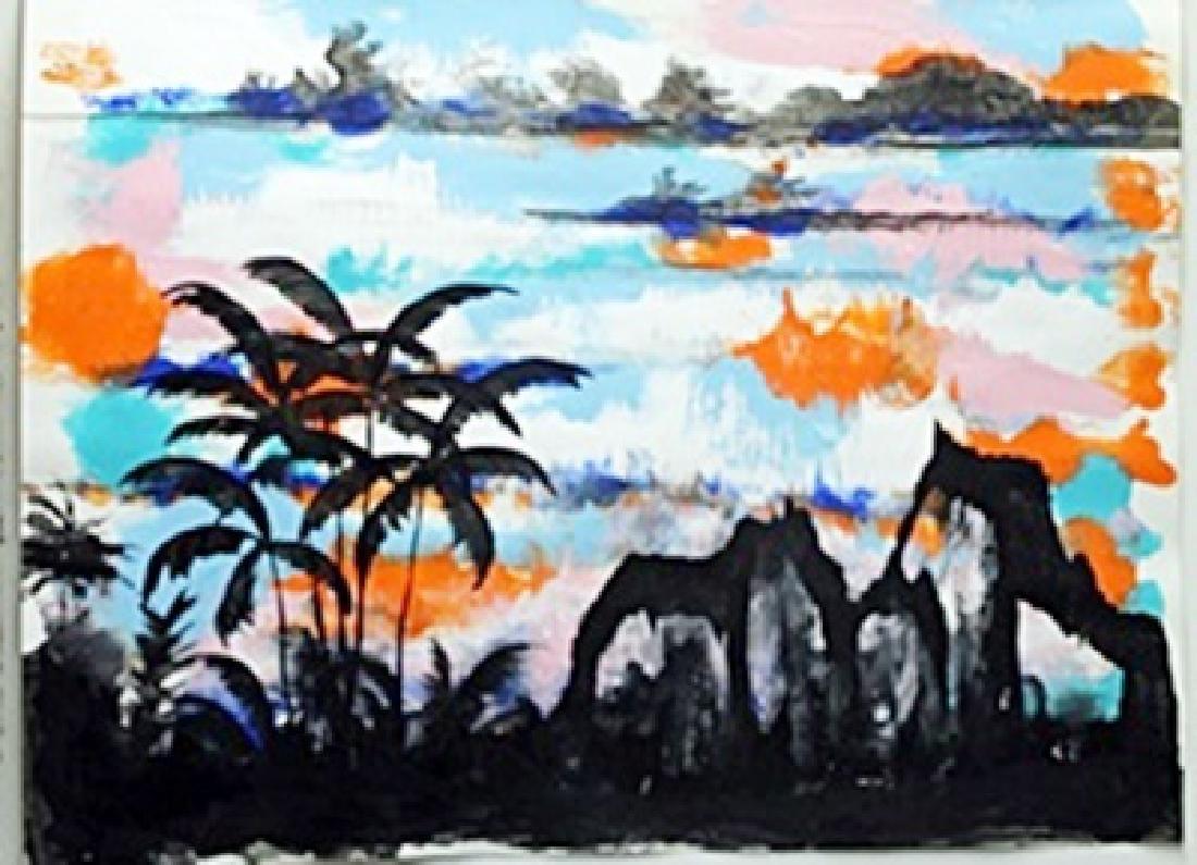 "Original ""Kaiser Land"" Oil Painting  William Verdult"