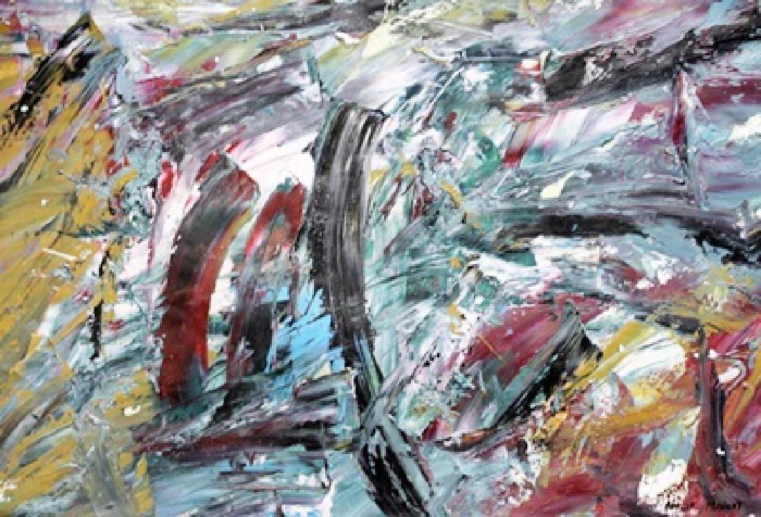 My Room - Roelof Frankot - Oil On Paper