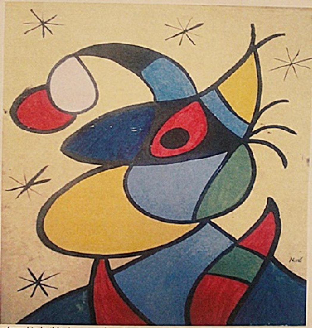 Joan Miro - Witch With Hat