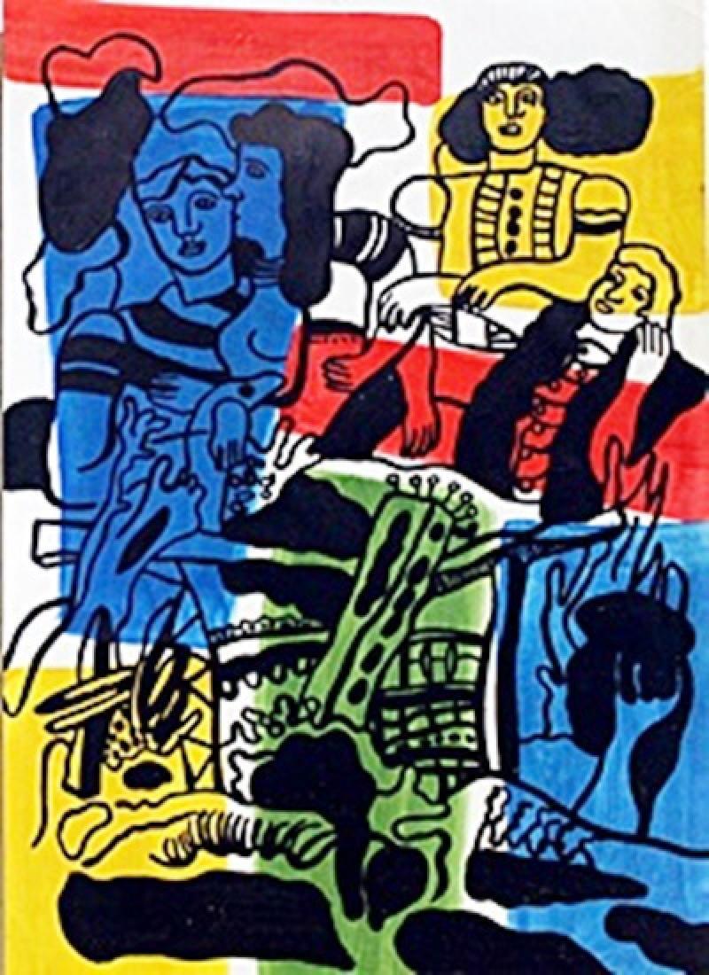 The Love 1930'  Fernand Leger