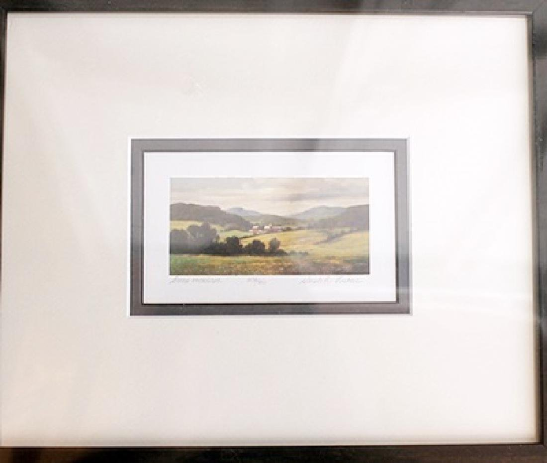 Green Meadows - Gerald Lubeck - Lithograph