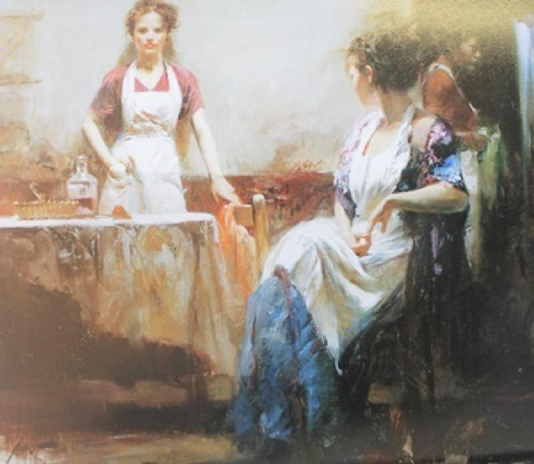 "Giclee on Paper ""The Dining Room""  Pino (15ZI)"
