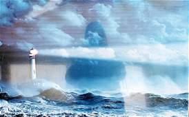 Storm Surf - Lithograph