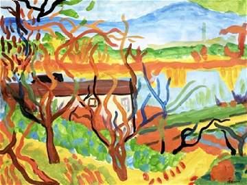 Watercolor - Andre Derain