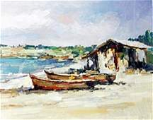 """Giclee """"Midday Boats"""""""