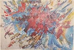 Joan Mitchell - Improvisation