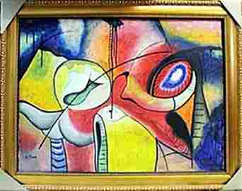 Oil Painting on Canvas  Arshile Gorky