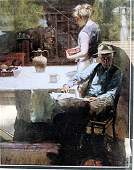 The Long Day - Pino - Giclee