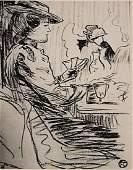 Henri de Toulouse-Lautrec - Woman in the Moulin Rouge