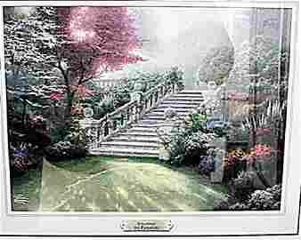 Stairway to Paradise - Thomas Kinkade - Lithograph