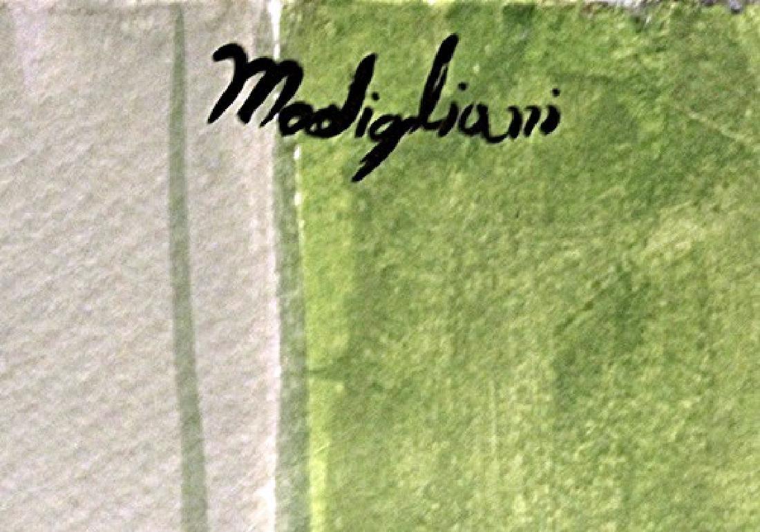 Ms. Clatizsse - Amadeo Modigliani - Watercolor On Paper - 3
