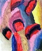 Oil on Paper  Frantisek Kupka