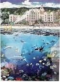 Waikiki Beach - Alexander Chen - Lithograph