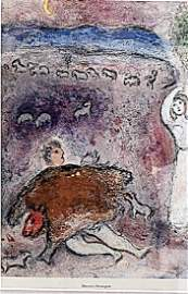 Dorcon's Stratagem - Marc Chagall - Lithograph