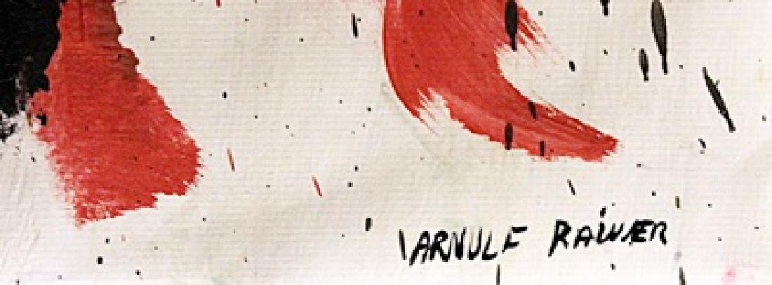 Cross - Arnulf Rainer - Oil On Paper - 2