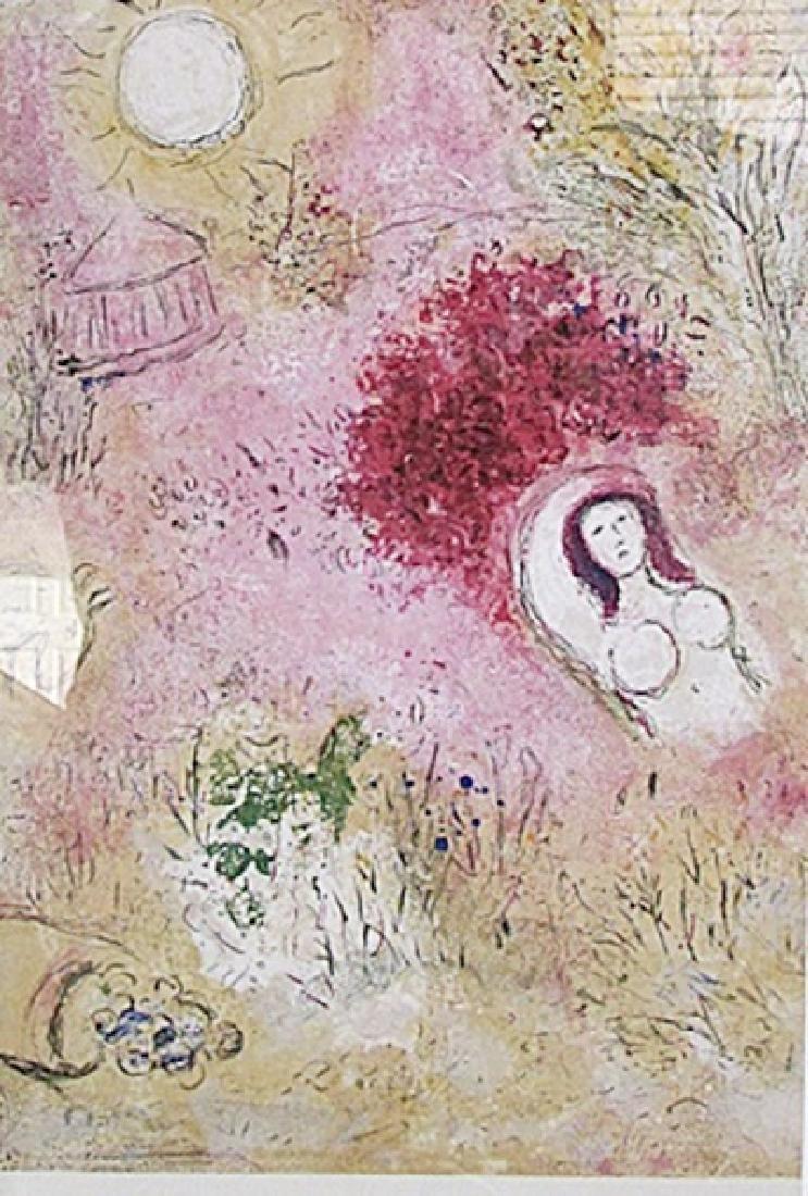 Chloe - Marc Chagall - Lithograph